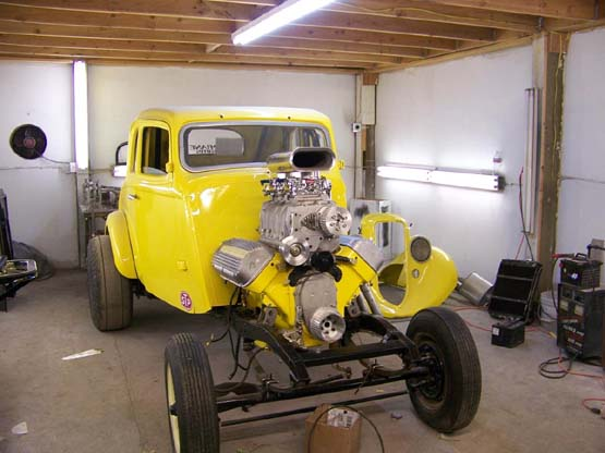 1933 Willys Project for Sale http://www.jimsibley.com/33-willys-coupe.html